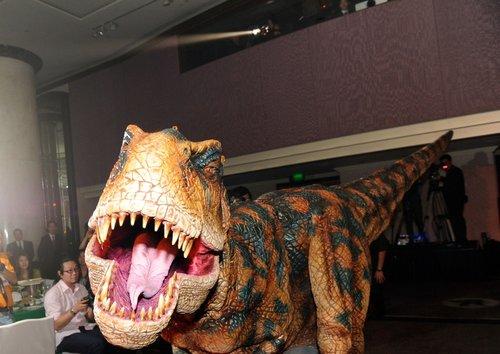 Baby T-Rex say Hi!