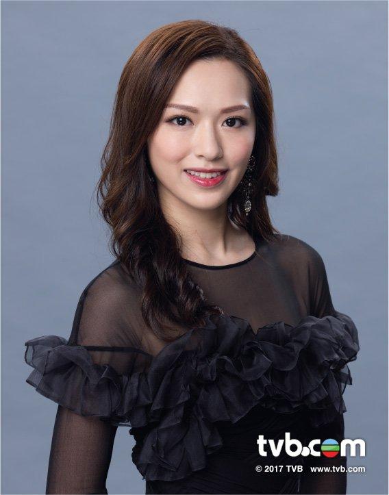 《2017國際中華小姐競選》季軍:3號馮盈盈(香港)