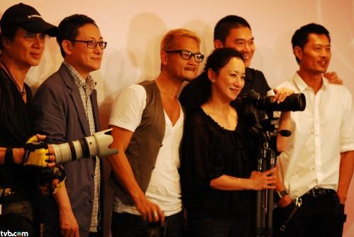 星級名師︰(左起)蔡克信、Walter Ma、Rick Chin、謝寧、鄧達智、黃德斌