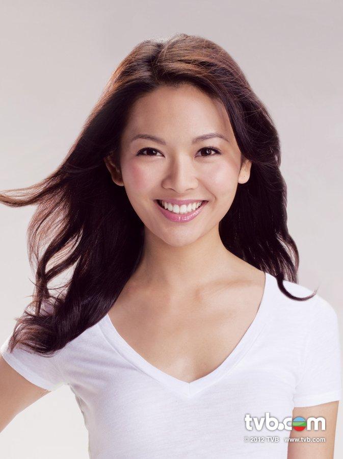 《2012香港小姐競選》官方相片 譚曉榆 Hilary Tam