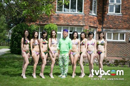 《2012年香港小姐競選》泳裝