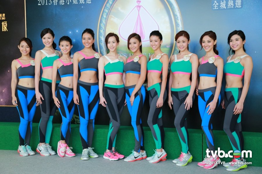 《2013香港小姐競選》當眾量度三圍 没人敢度胸圍