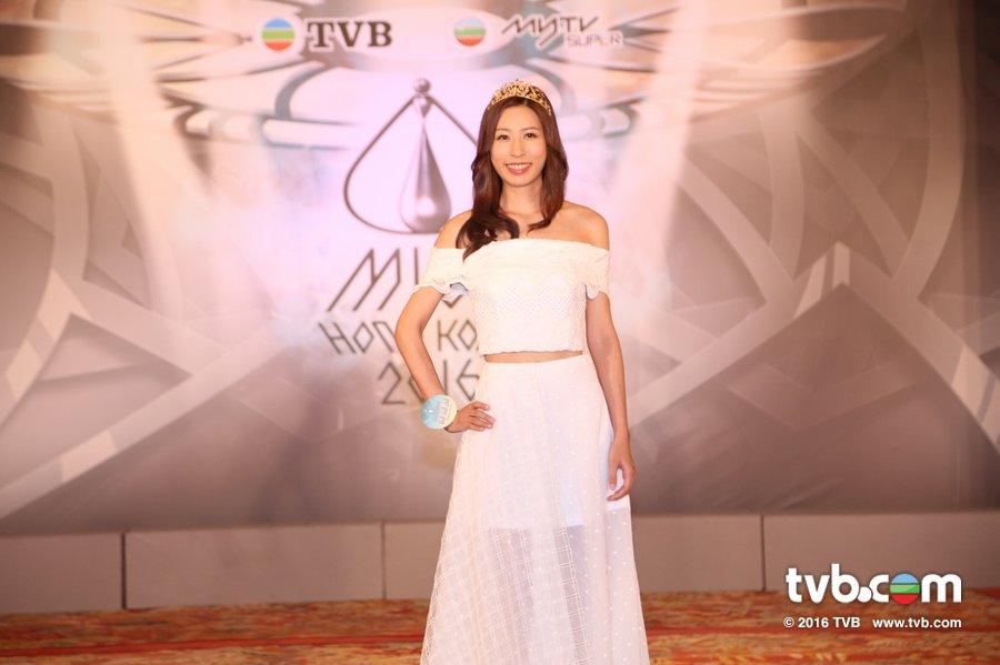 《2016香港小姐競選》20位入圍佳麗