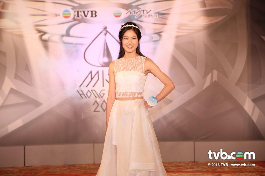 《2016香港小姐競選》20位候選佳麗