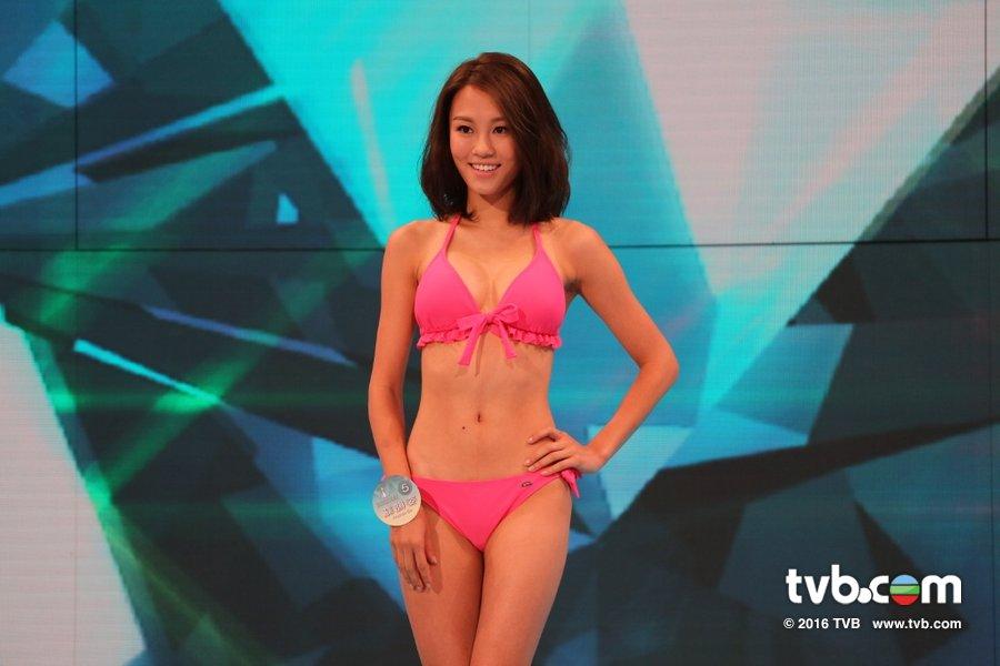 《2016香港小姐競選》決賽泳裝綵排