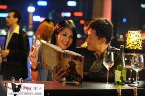 千嬅、林峯,二人在酒吧相遇。